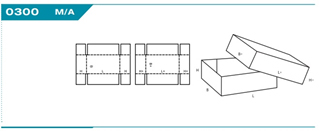 Mélyfedelű hullámkarton doboz